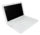 The white MacBook
