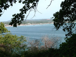 Bay of Trincomalee (View from Temple)