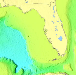 The Keys were formed near the edge of the Florida Plateau