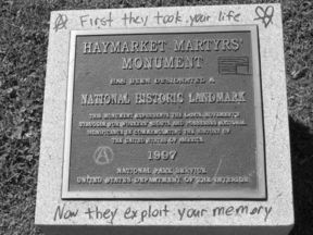 Marker placed in 1997