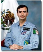 Rodolfo Neri Vela, the first Mexican in space