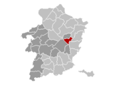Location of As in Limburg