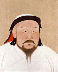 Kublai Khan becomes ruler of the Mongol Empire in 1260.