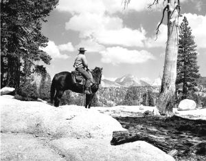 Red Slate Mountain - Peter Pande trail (photo taken in 1963)