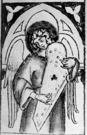 Picture of a Psaltery from Ala Bohemica