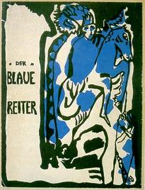 Der Blaue Reiter, cover of the almanac, 1912