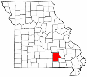 Image:Map of Missouri highlighting Shannon County.png