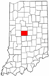 Image:Map of Indiana highlighting Boone County.png