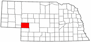Image:Map of Nebraska highlighting Keith County.png