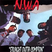 Hip-hop group N.W.A.