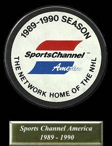 SportsChannel of America, the official American television rights holder of the National Hockey League from 1988-1992