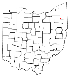 Location of South Canal, Ohio