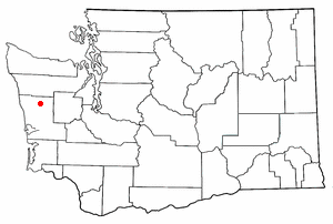 Location of Neilton, Washington
