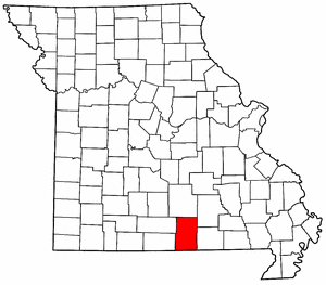 Image:Map of Missouri highlighting Howell County.png