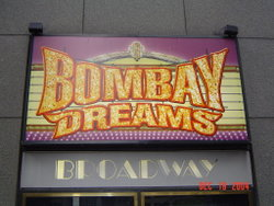 Bombay Dreams on Broadway, New York City