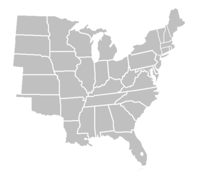 Usa Map East