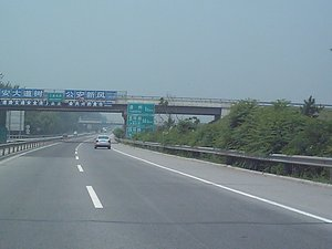 The Jingha Expressway (July 2004 image)