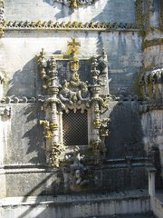 The Convento de Cristo's famous Manuel I Chapter window by Diogo de Arruda (around 1510)
