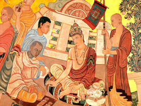 The court of Chandragupta Maurya, especially Chanakya, played an important part in the foundation and governance of the Maurya dynasty