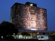 UNAM, University City, Mexico City.
