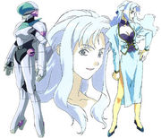 Sylia as she appeared in the 2040 anime