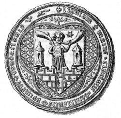 Mediaeval seal of the Duchy of Kalisz.