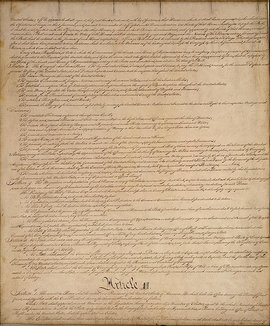 Page II of the United States Constitution
