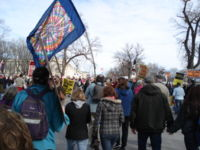 January 27, 2007, peace protest in Washington DC.