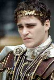 Commodus as portrayed by Joaquin Phoenix