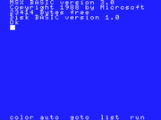 MSX BASIC version 3.0