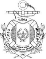 Official seal of the Almirante Brown Military Naval Lyceum (Liceo Naval Militar Almirante Brown)