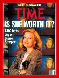 Diane Sawyer on TIME magazine cover, August 7, 1989