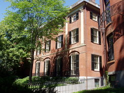 2nd Harrison Gray Otis House, Beacon Hill, Boston, Massachusetts.