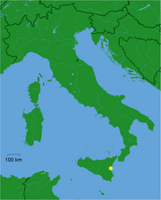 Location within Italy