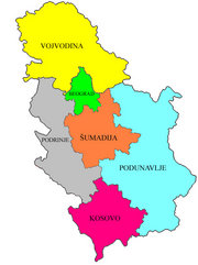 proposed Podunavlje Region