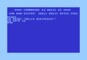 Commodore BASIC V2.