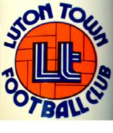 Luton Town club crest during 1980's