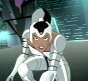 "Natasha appears in an ""Easter Egg"" on the Justice League season 1 DVD."