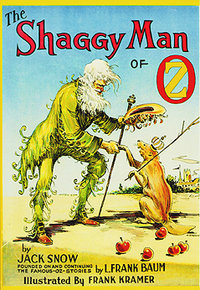 Cover of The Shaggy Man of Oz.