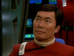 Hikaru Sulu, Captain of the USS Excelsior.