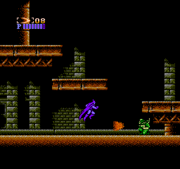 First stage in the NES version.