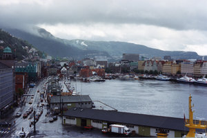 A typical summer day in Bergen