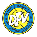 Logo of the Deutscher Fussball Verband der DDR (German Football League of East Germany)
