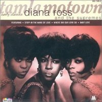 Diana Ross & the Supremes, c. 1965. Left to right: Florence Ballard, Mary Wilson, and Diana Ross.