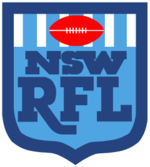 Old logo of the NSWRL